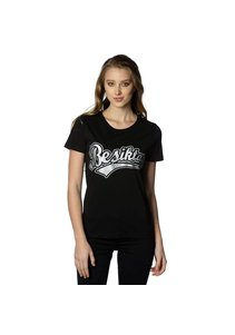 Beşiktaş Womens College T-Shirt Special Printed 8818103 Black