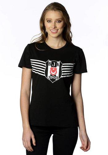 Beşiktaş Womens Victory Logo T-Shirt 8818114 Black