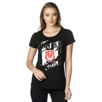 Beşiktaş Krallenlogo T-Shirt Damen 8818112 Schwarz