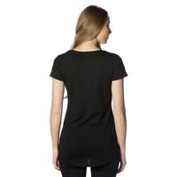 Beşiktaş Patte Logo T-Shirt pour Femmes 8818112 Noir