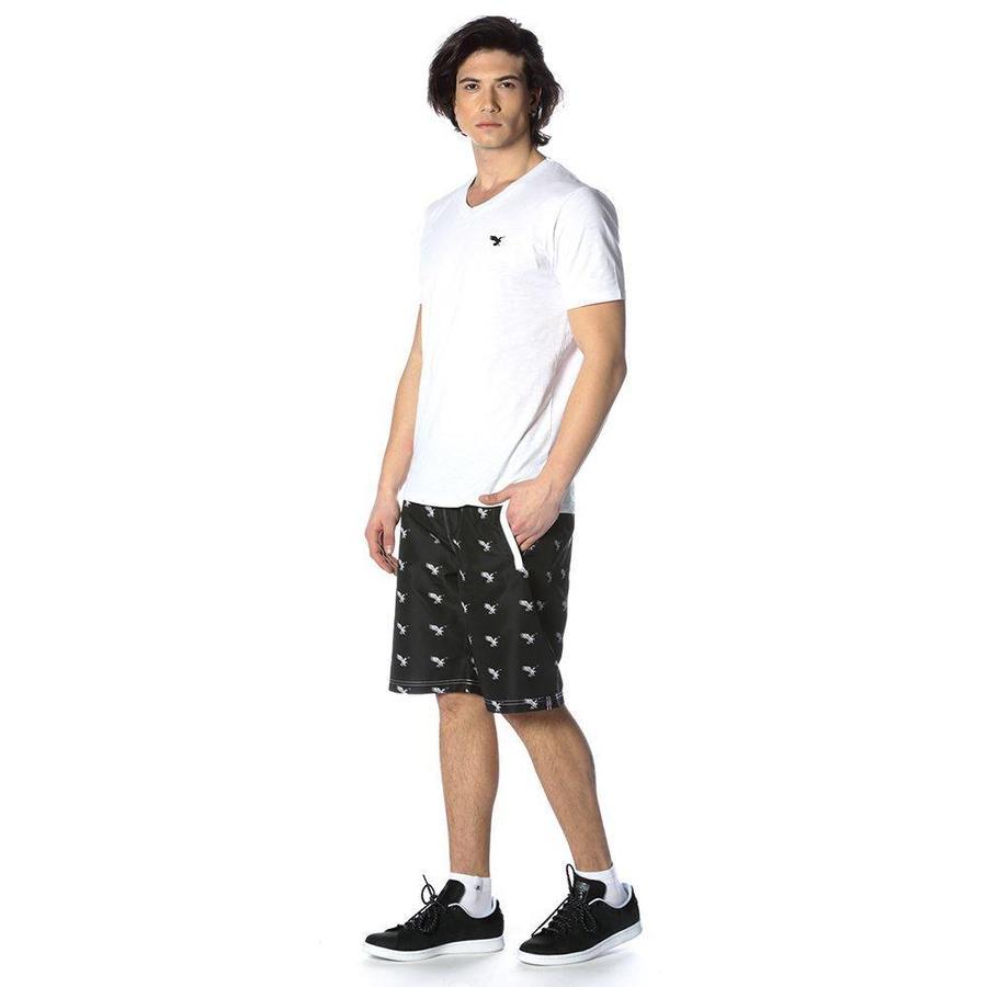 Beşiktaş Mens eagle swim shorts 7818456 Black