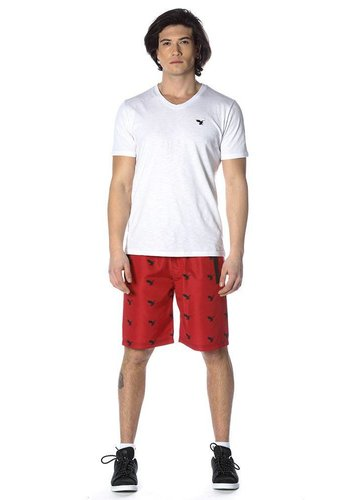 Beşiktaş Mens eagle swim shorts 7818456 Red