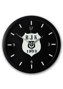 Beşiktaş silver logo wall clock