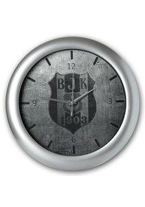 Beşiktaş logo Wanduhr