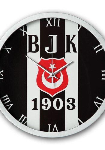 Beşiktaş striped logo wall clock