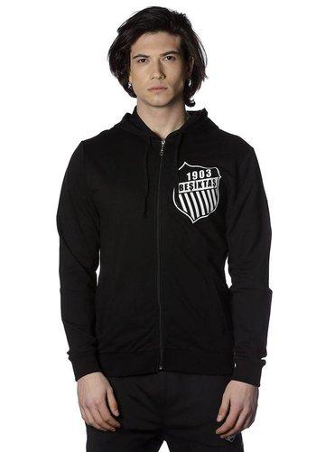 Beşiktaş mens pin logo hooded sweater 7818201