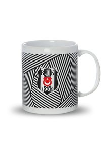 Beşiktaş gestreift keramik Becher