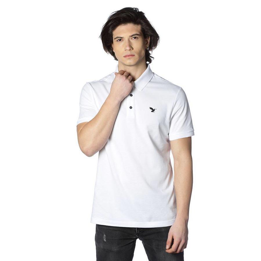 Beşiktaş basic polo t-shirt heren 7818152 wit