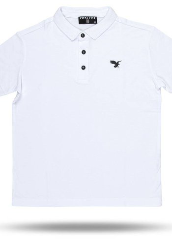 Beşiktaş basic polo t-shirt kinderen 6818152 wit
