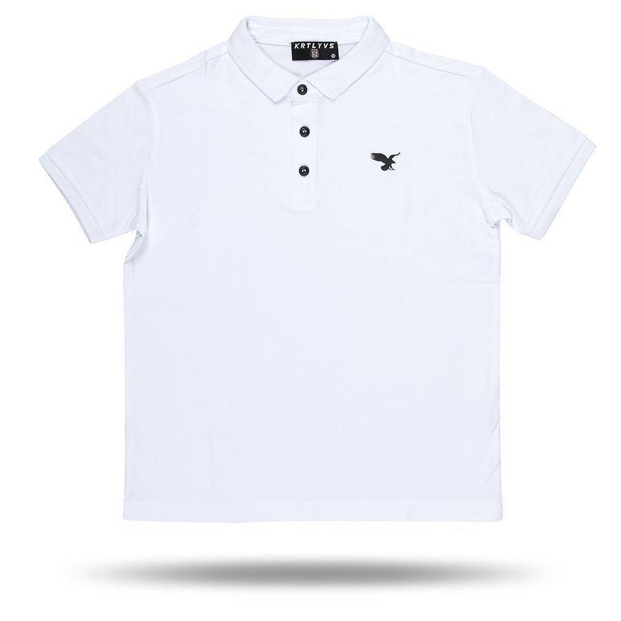Beşiktaş basic polo t-shirt kinder 6818152 weiss