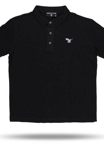 Beşiktaş kids basic polo t-shirt 6818152 schwarz