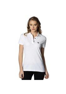 Beşiktaş womens basic polo t-shirt 8818152 white