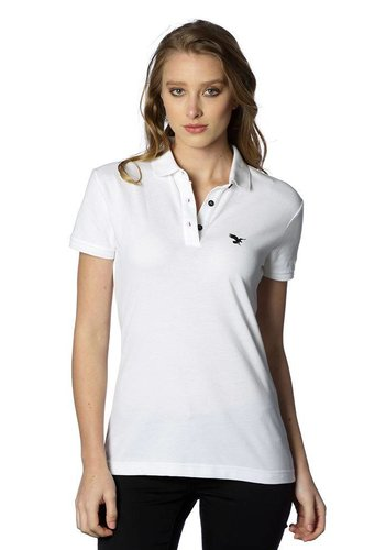 Beşiktaş womens basic polo t-shirt 8818152 white