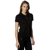 Beşiktaş basic polo t-shirt pour femmes 8818152 noir