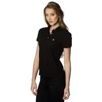 Beşiktaş basic polo t-shirt dames 8818152 zwart