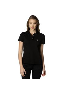 Beşiktaş womens basic polo t-shirt 8818152 black