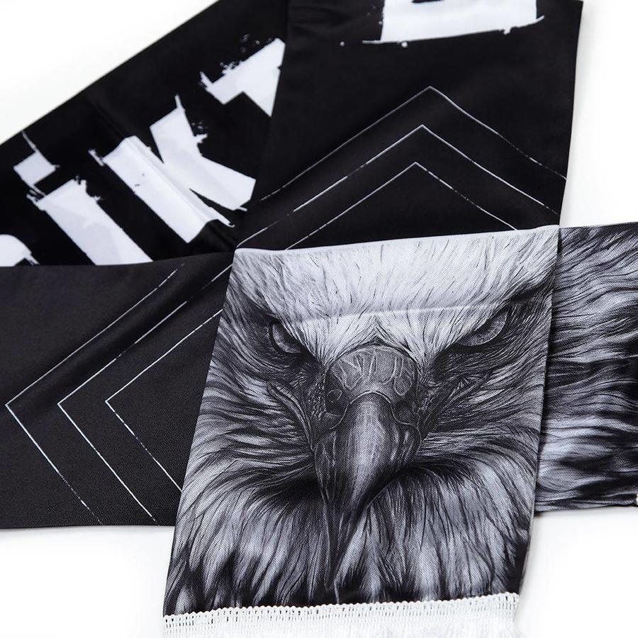 Beşiktaş 'kartal yüzü' satin scarf
