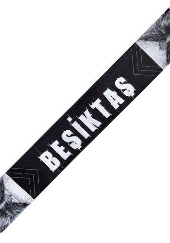 Beşiktaş 'kartal yüzü' satin schal