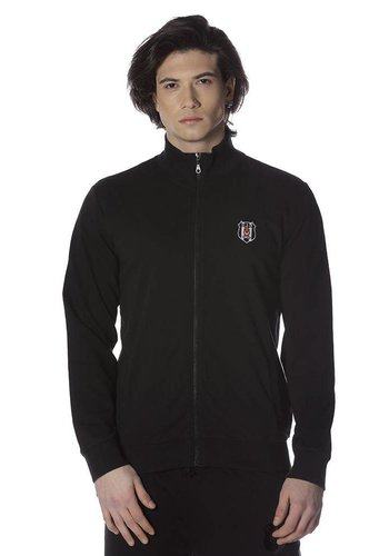 Beşiktaş manteau noir pour hommes 7818205