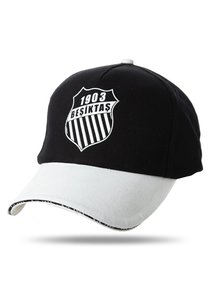 Beşiktaş casquette logo rosette 02 noir