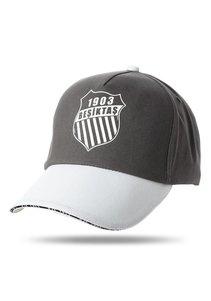 Beşiktaş casquette logo rosette 02 anthracite