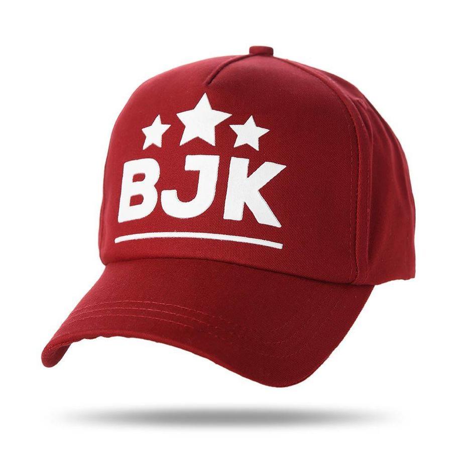 Beşiktaş casquette 3 étoiles 05 bordeaux