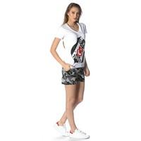 Beşiktaş camouflage short pour femmes 8818450