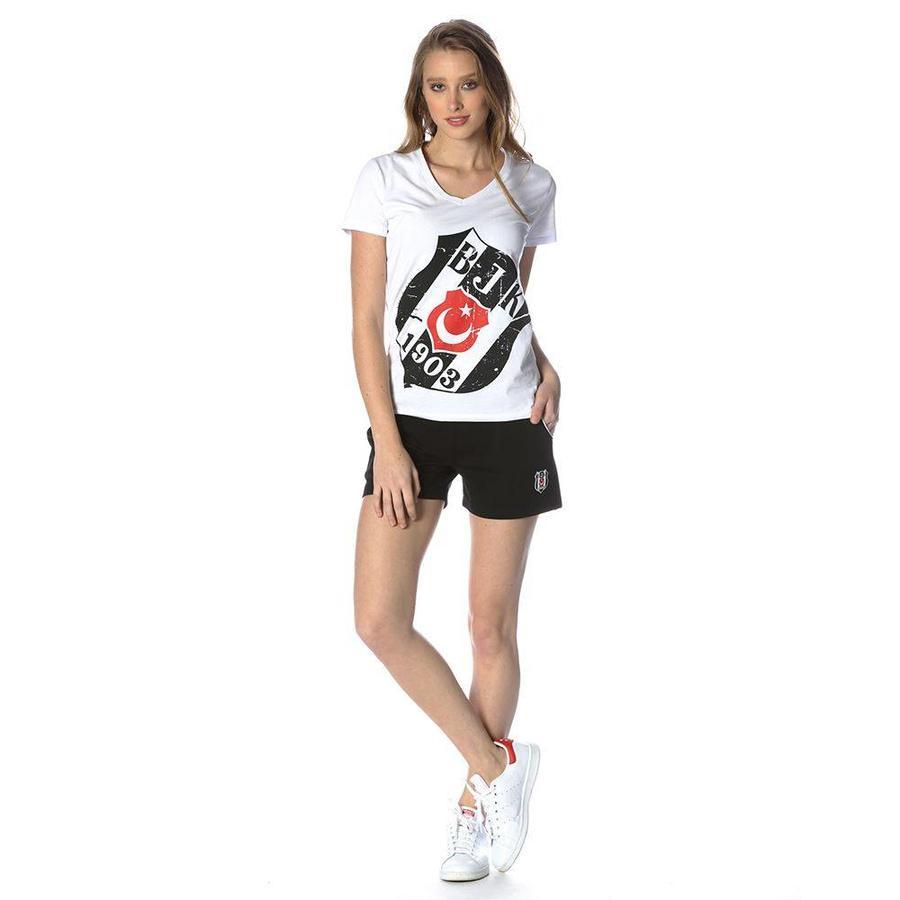 Beşiktaş short damen 8818459 schwarz