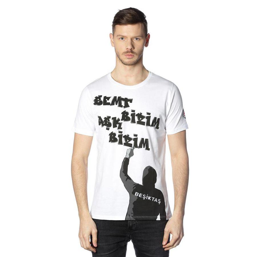 Beşiktaş t-shirt heren 7818121 wit