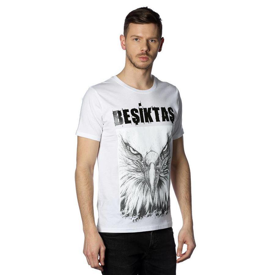 Beşiktaş t-shirt heren 7818127 wit