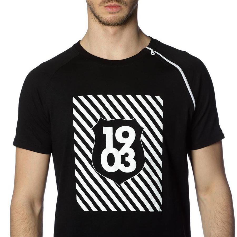 Beşiktaş 1903 zip t-shirt pour hommes 7818144