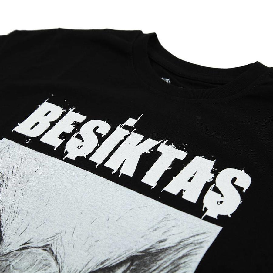 Beşiktaş t-shirt kinderen 6818127 zwart