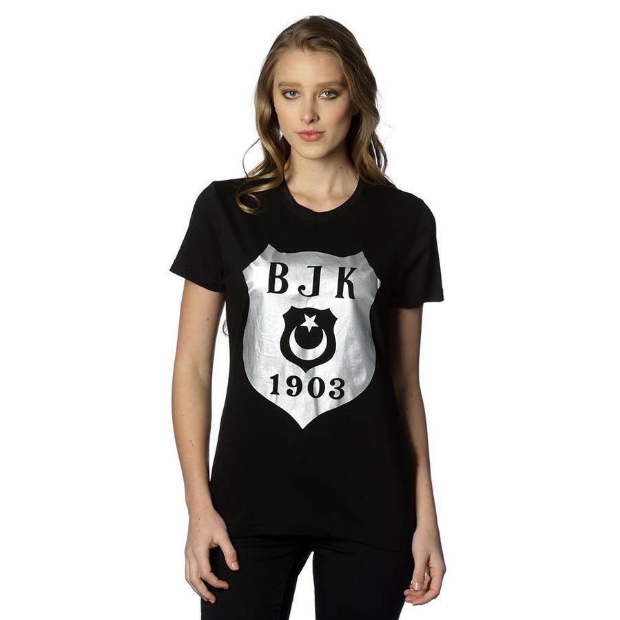 Beşiktaş t-shirt dames 8818106 zwart
