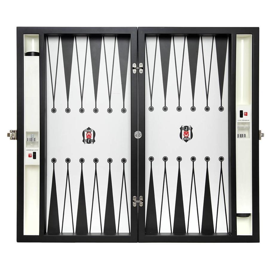 Beşiktaş backgammon mit Holzboden