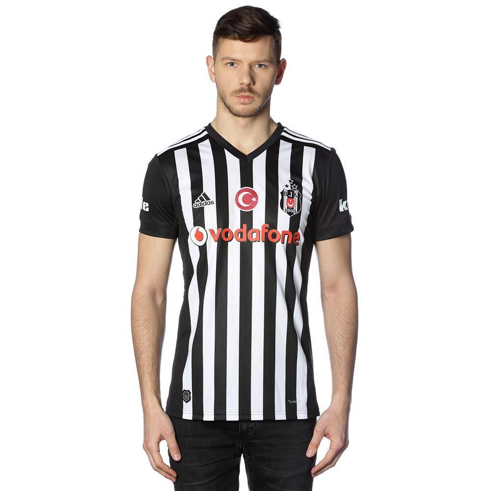 Beşiktaş Adidas Auswartstrikot 17 18 gestreift