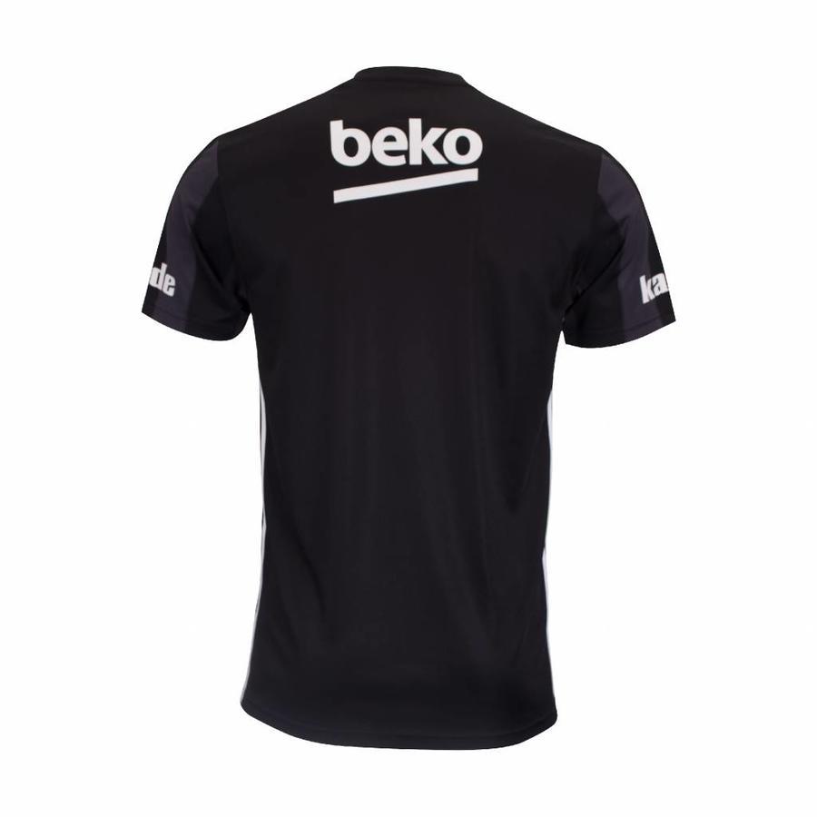 Adidas Beşiktaş Gestreept Shirt Zwart 18-19