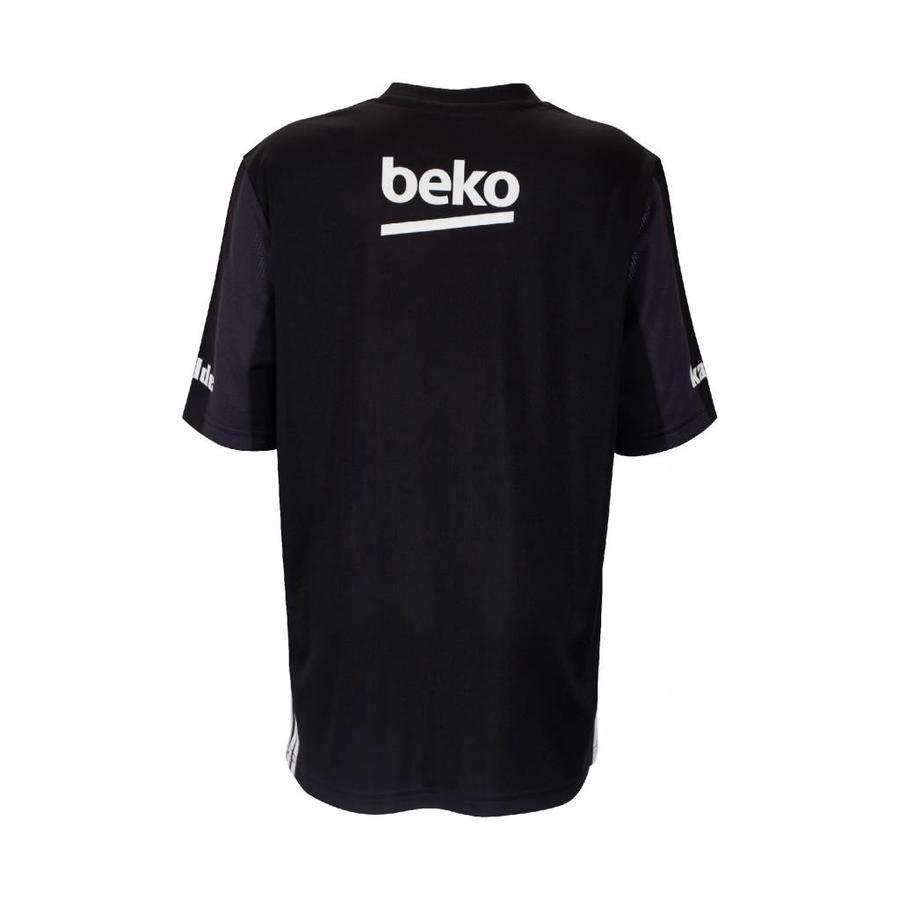 Adidas Beşiktaş Gestreift Trikot Schwarz Kinder 18-19
