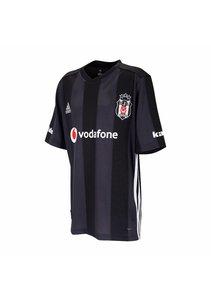 Adidas Beşiktaş Gestreept Shirt Zwart Kinderen 18-19