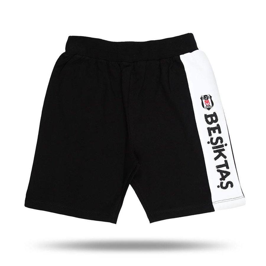 Beşiktaş logo short kinder 01 schwarz
