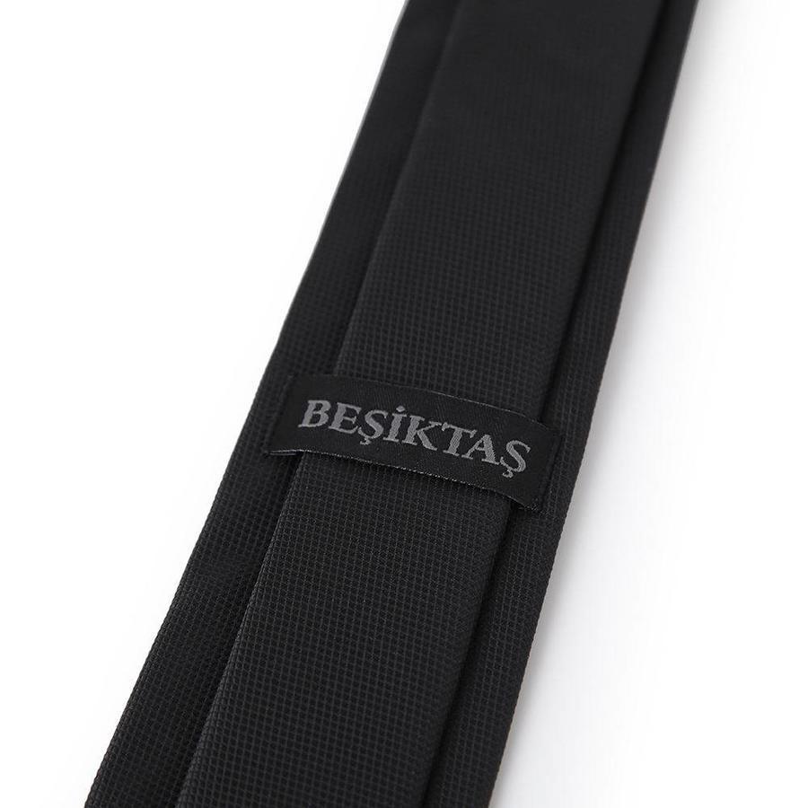 Beşiktaş cravate mince noir en boîte 01