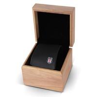 Beşiktaş dünn ebene Schwarze Krawatte in Box 01