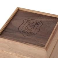Beşiktaş dünn Diagonal Gestreift Krawatte in Box 03