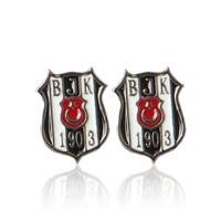 Beşiktaş K16KUPE01 Classic Logo Earring