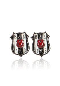 Beşiktaş K16KUPE01 Klassisch Logo Ohrring