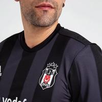 Adidas Beşiktaş Gestreift Trikot Schwarz 18-19
