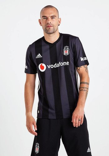 Adidas Adidas Beşiktaş Gestreift Trikot Schwarz 18-19