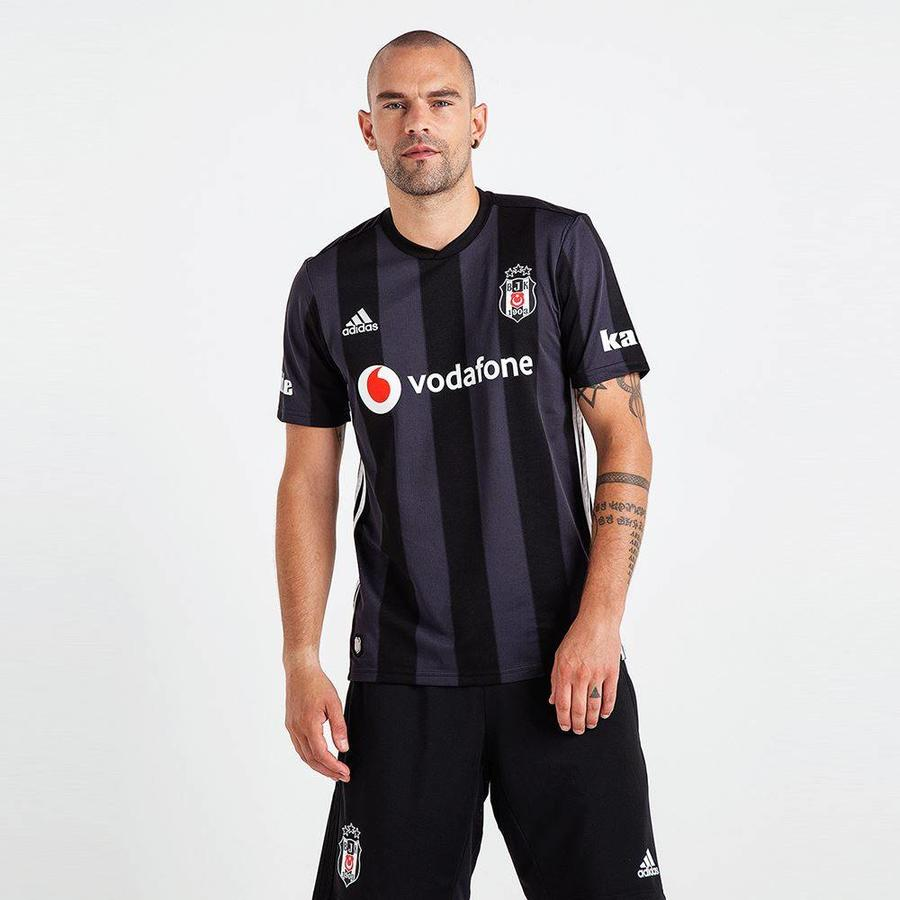 Adidas Beşiktaş Striped Black Shirt 18-19