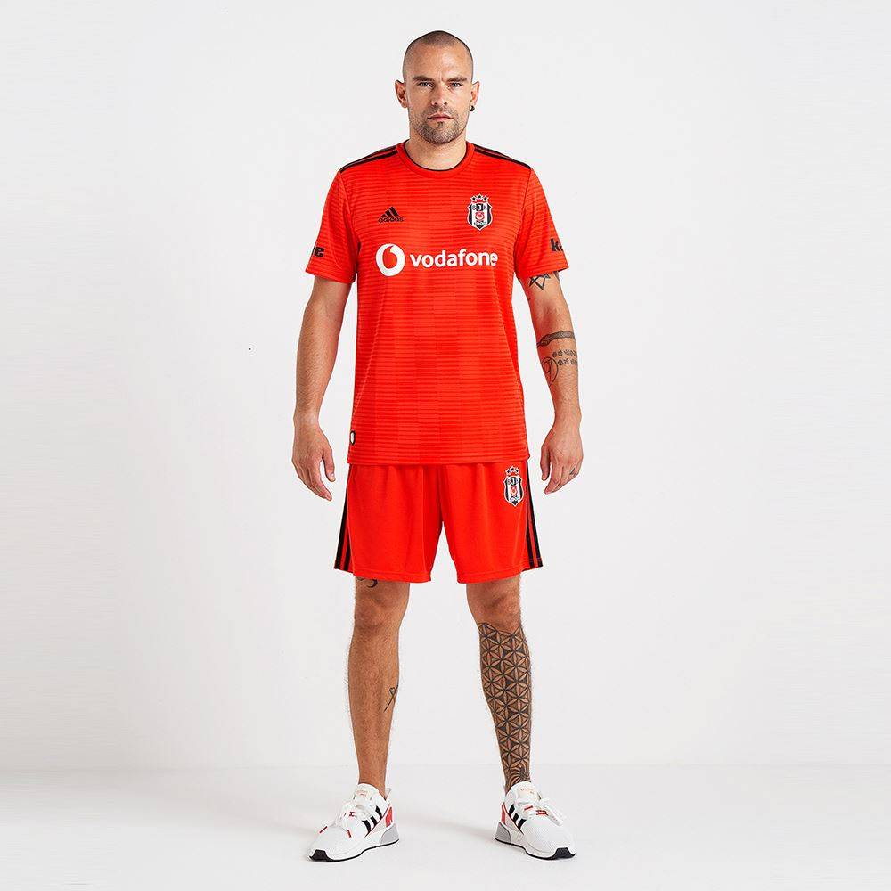 Adidas Adidas Beşiktaş Shirt Rood 18 19