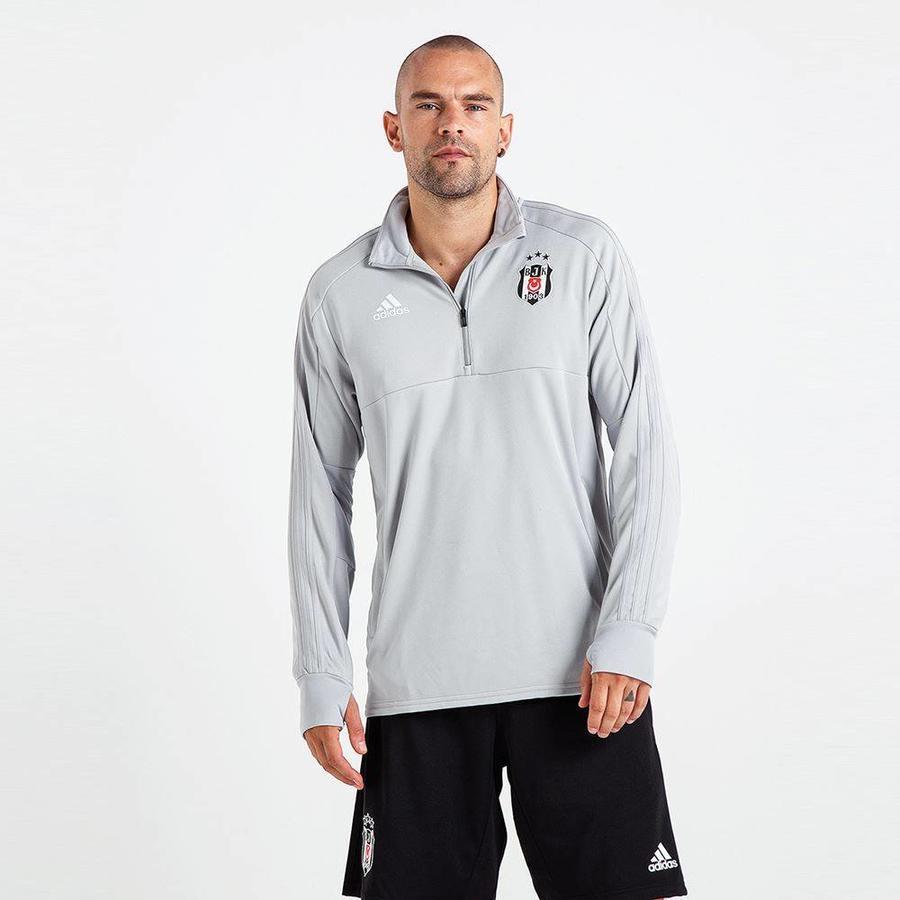 Adidas Beşiktaş 2018-19 Sweater mit halber reissverschluss CV8234