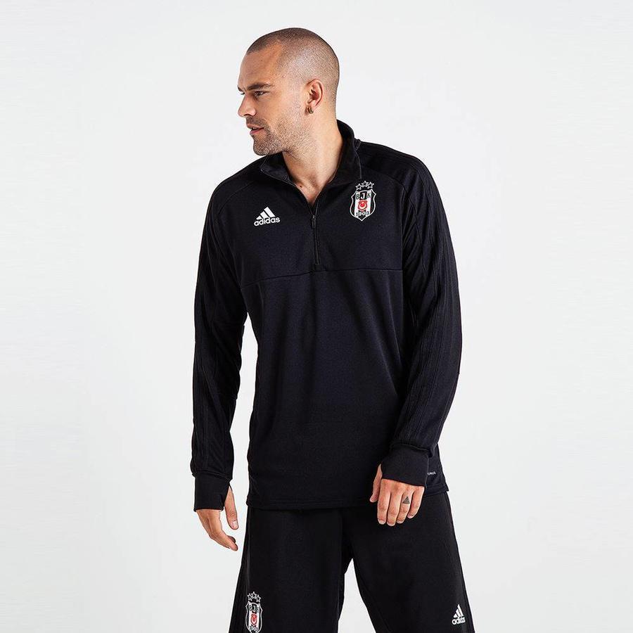 Adidas Beşiktaş 2018-19 Half Zip Sweater BS0602